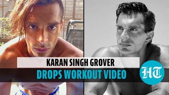 Karan Singh Grover shares yoga video, wife Bipasha Basu finds it 'scary'