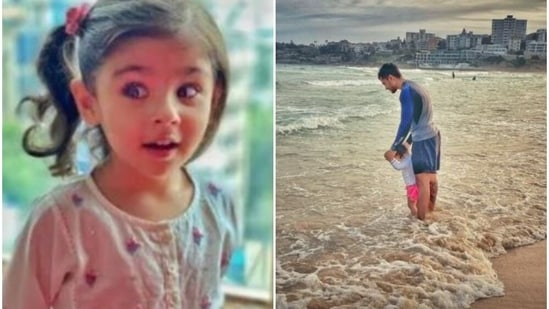 Soha Ali Khan shared new pictures of daughter Inaaya and Kunal Kemmu on Earth Day.