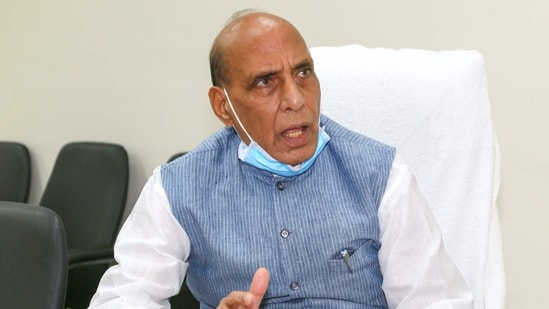 """""""India is extending its full support to the ongoing Indonesian rescue efforts,"""" defence minister Rajnath Singh tweeted.(PTI)"""