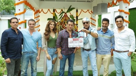 Radhe Your Most Wanted Bhai stars Salman Khan, Disha Patani and Randeep Hooda.