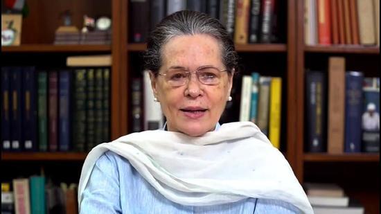 Congress president Sonia Gandhi. (File photo)