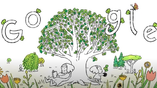 Google Doodle for Earth Day(Google)