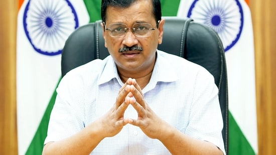 """Arvind Kejriwal immediately apologised. """"We will keep this in mind in the future.""""(ANI Photo)"""