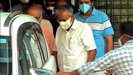 Kerala Chief Minister Pinarayi Vijayan said the state will chalk out a plan to buy Covid-19 vaccines directly from the market. (ANI PHOTO.)