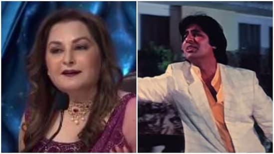 Jaya Prada shared an incident about how Amitabh Bachchan performed the De De Pyar De song.