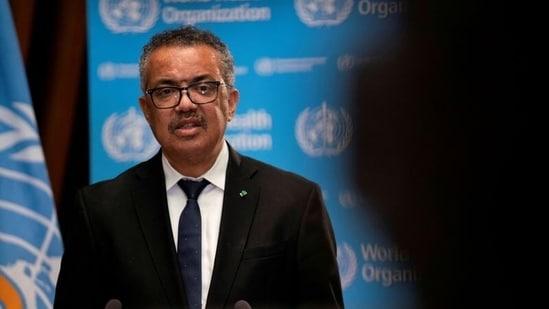 Tedros Adhanom Ghebreyesus, Director General of the World Health Organization (WHO)(Reuters)