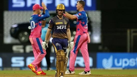 Batsmen lacked intent, were 40 runs short': Eoin Morgan after KKR's 4th  straight loss in IPL 2021 | Hindustan Times