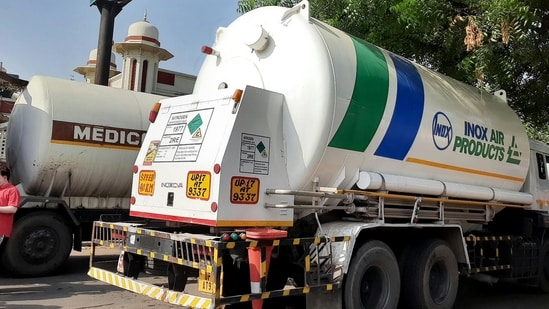 The ministry has also asked the Delhi government to obtain more cryogenic tankers.