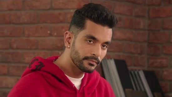 Angad Bedi in a still from The Zoya Factor.
