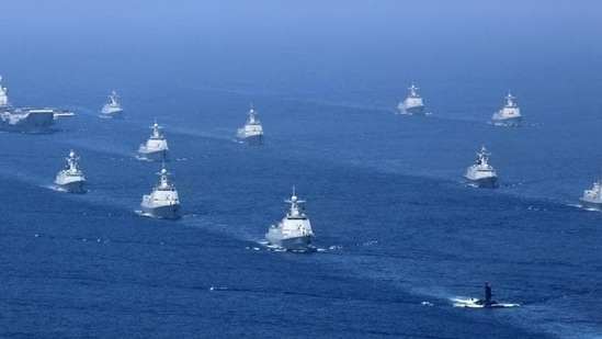 China commissions three advanced naval ships(AP file photo. Representative image)