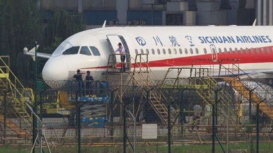 Sichuan Airlines said the airline has suspended its cargo flights on all six routes - Xi'an-Delhi, Xi'an-Mumbai, Chengdu-Chennai, Chongqing-Chennai, Chengdu-Bangalore, and Chongqing-Delhi - for 15 days.(REUTERS)