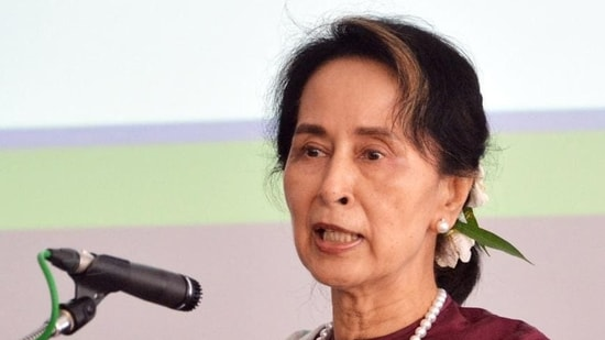 The most serious charge Suu Kyi faces falls under Myanmar's official secrets law, with a hearing due in Yangon on May 6.(AFP file photo)