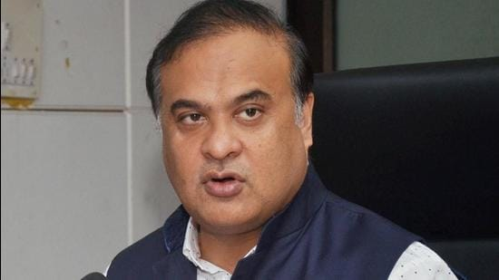 Himanta Biswa Sarma, who also holds the education portfolio, informed that from now on all classes in private and government schools till Class VII will be conducted via the online mode in a majority of districts. (PTI PHOTO.)