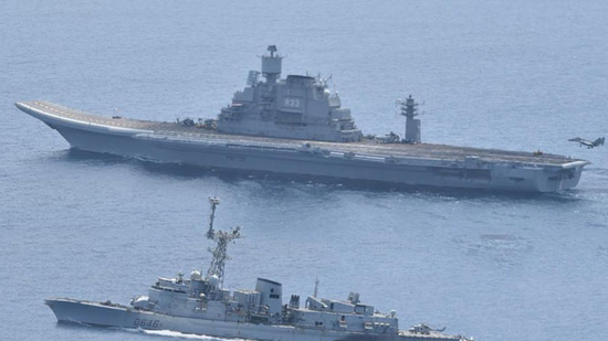 Indian and French navies begin 3-day wargame in Arabian Sea(ANI)