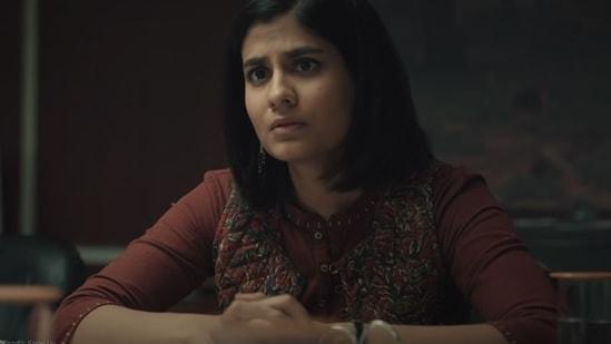 Shreya Dhanwanthary was seen in hit series Scam 1992.