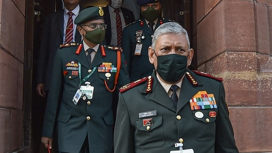 Chief of Defence Staff (CDS) Bipin Rawat told the PM that all medical officers on staff appointments at Command HQ, Corps HQ, Division HQ and similar HQs of the navy and the Indian Air Force will be employed at hospitals.(PTI)