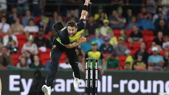 Australia quick Andrew Tye in action.(Getty Images)