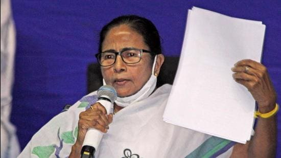 West Bengal chief minister Mamata Banerjee. (File photo)