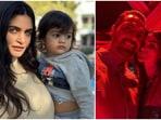 Arjun Rampal along with girlfriend Gabriella Demetriades and son Arik