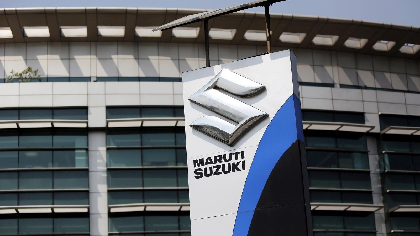 Maruti Suzuki profit dips 9.4% to  r₹r1,166.1 crore in March quarter thumbnail