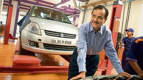 Jagdish Khattar, an IAS officer of the UP cadre, had joined Maruti Udyog as an officer on special duty in 1992.(Photo: Mint)