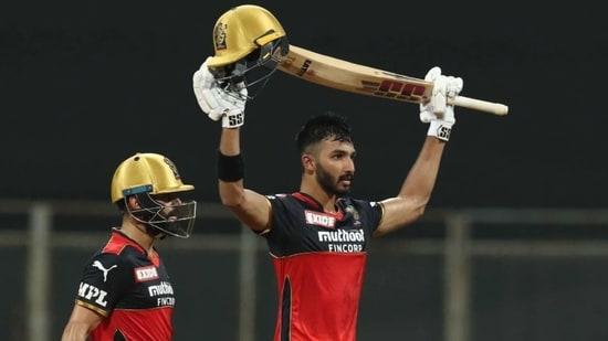 RCB captain Virat Kohli and Devdutt Padikkal(IPL)