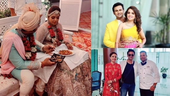 Inside Sugandha Mishra and Sanket Bhosale's wedding