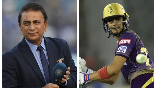 Sunil Gavaskar said Shubman Gill is struggling and suggested a new opening pair for KKR in IPL 2021