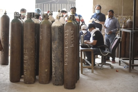 The Haryana government said that all efforts are being made to increase the production of medical oxygen. (File Photo)