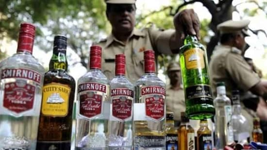 Haryana: The liquor bottles were seized in two separate incidents, officials said. (File Photo / Representational Image)