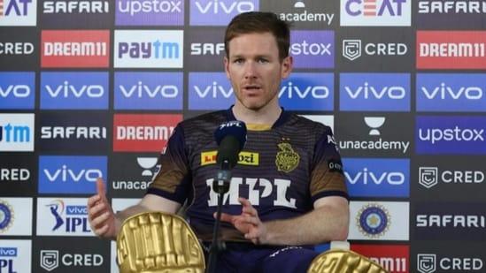 KKR captain Eoin Morgan(IPL/BCCI)