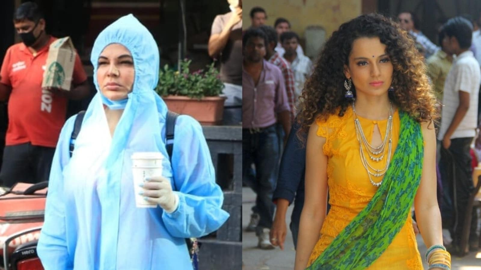 Rakhi Sawant asks Kangana Ranaut to help India in procuring oxygen: 'You have crores of rupees' - Hindustan Times