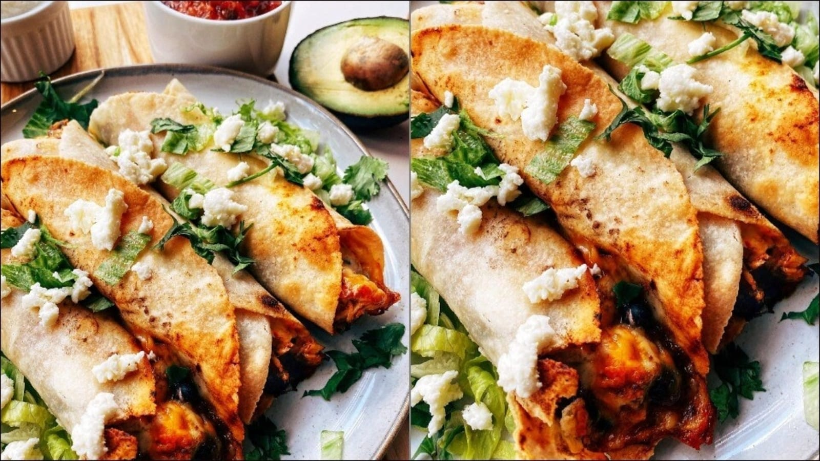 Recipe: Black bean chicken flautas is a dinner dish cooked in 15 minutes