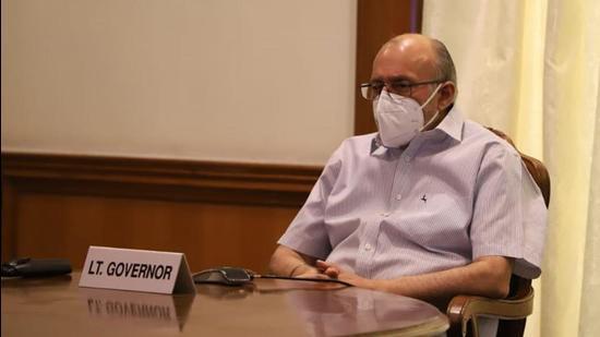 Delhi Lt. Governor Anil Baijal. (HT archive)