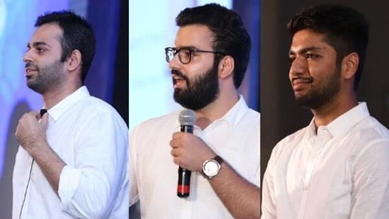 Nishkarsh Sharma, Srijan Bhardwaj and Sidhant Jhunjhunwala