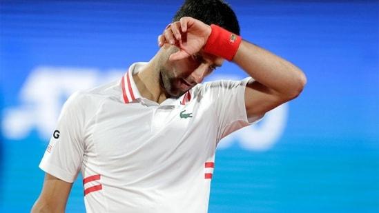 Novak Djokovic. (AP)