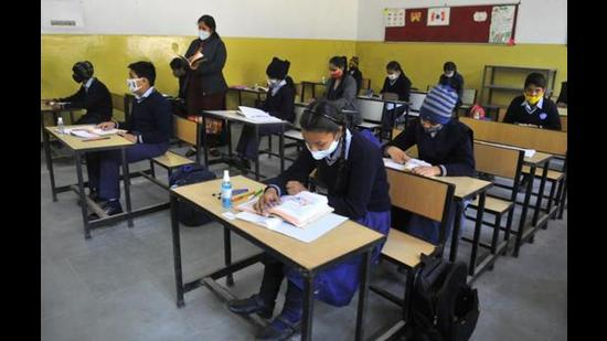 The instructions to close all educational institutions of the city were first issued on March 23. (HT FILE PHOTO )