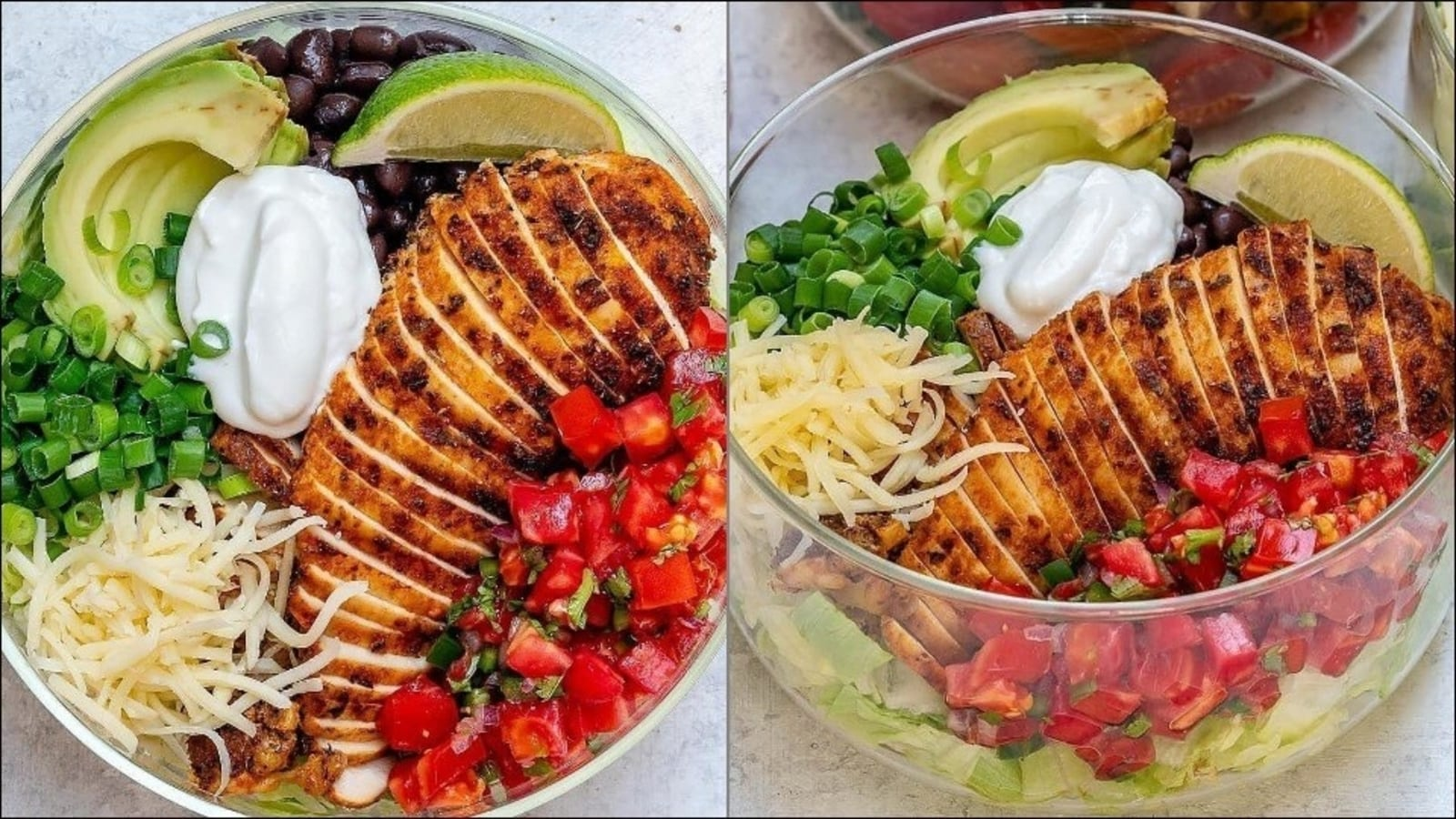 Recipe: Recharge your drooping energies with Grilled Chicken Burrito Salad Bowl