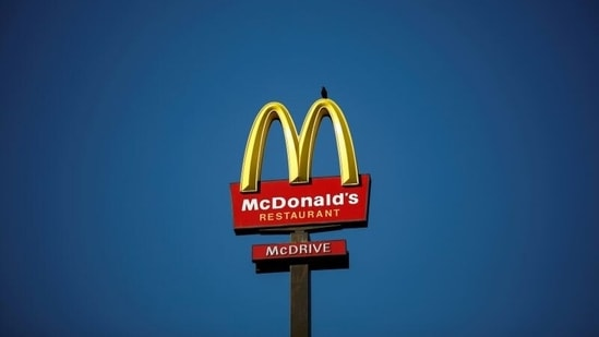 McDonald's has been helped by its drive-thru service and investments in delivery that it made before the pandemic.(Reuters)