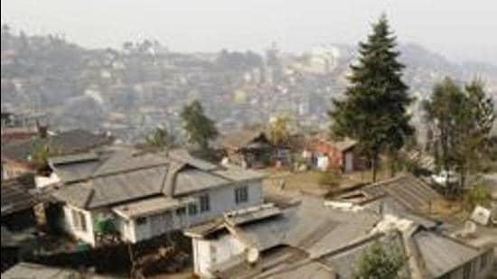 Kohima city. (HT archive)