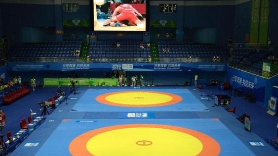 File photo of wrestling.(File)