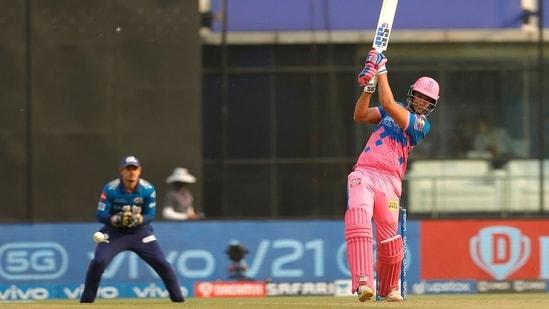 Shivam Dube scored 35 off 31 balls. (IPL/Twitter)
