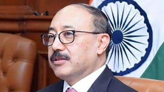 Shringla said India expects to receive more than 500 oxygen generating plants, more than 4,000 oxygen concentrators, more than 10,000 oxygen cylinders, and 17 cryogenic oxygen tankers.(ANI file photo)