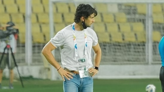 FC Goa head coach Juan Ferrando