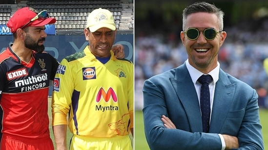 Kevin Pietersen has revealed what MS Dhoni said about Virat Kohli in 2016. (IPL/Getty)