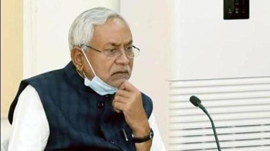 Bihar chief minister Nitish Kumar. (HT file)