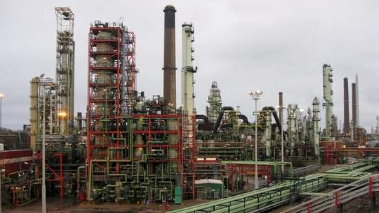 General view of Neste's oil refinery(Reuters File Photo)