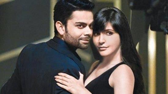 Anushka Sharma and Virat Kohli met during an ad shoot.