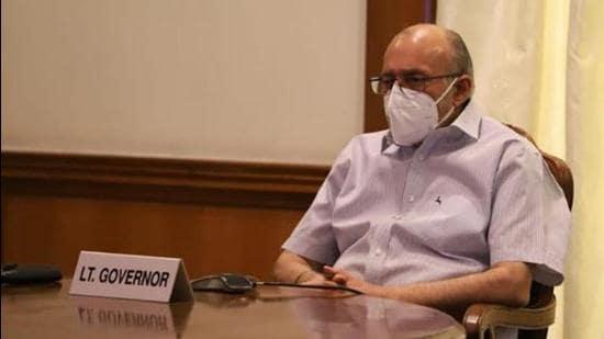 Delhi L-G Anil Baijal. (HT archive)