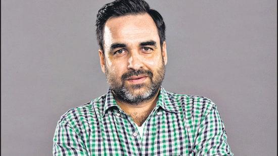 Pankaj Tripathi enjoys watching independent films on OTT (Aalok Soni/HT PHOTO)